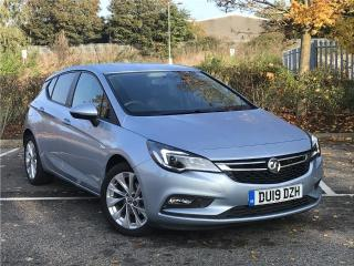 Vauxhall Astra Design 1.4i Turbo 125ps Hatchback 2019, 9469 miles, £11000