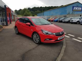 Mar 2019 Vauxhall Astra GRIFFIN