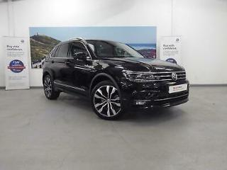 2019 Volkswagen Tiguan 2.0 TSI 230PS R Line Tech 4Motion DSG Petrol black Semi A