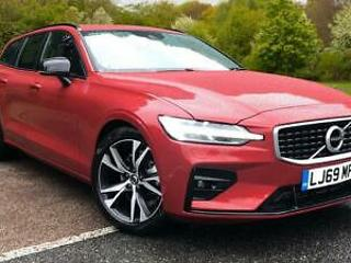 2019 Volvo V60 2.0 D4 190 R Design with Win Automatic Diesel Estate
