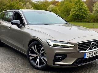 Volvo V60 2.0 D4 R Design Nav Auto with Estate 2019, 9028 miles, £26000