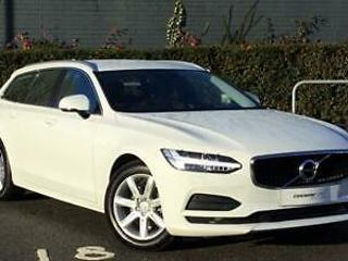 2019 Volvo V90 2.0 D4 Momentum 5dr Geartronic Diesel white Automatic