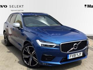 Volvo XC60 2.0 D4 R DESIGN Pro 5dr AWD Geartronic Estate 2019, 10000 miles, £37480