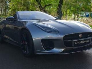 2020 Jaguar F TYPE 3.0 380 Supercharged V6 R Dy Automatic Petrol Convertible