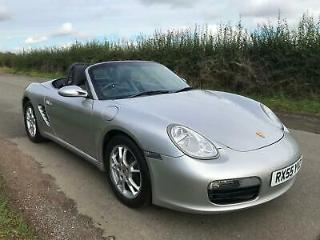 55 Porsche Boxster 2.7 987 Manual, Silver, Low Miles, FSH, Top Spec, Outstanding
