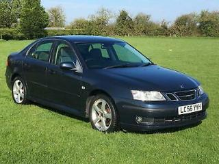56 Saab 9 3 1.9TiD 150bhp Vector New MOT upon sale. Leather, climate, cruise
