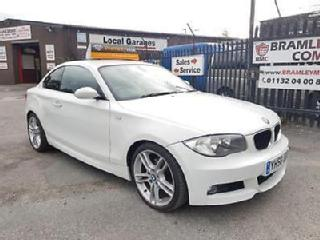 58 2008 BMW 120 2.0TD d M Sport 2009 2010 2 DOOR COUPE ONLY DONE '48000'