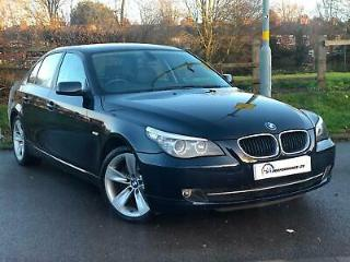 58 Reg BMW 520 2.0TD auto 2008MY d SE LCI SAT NAV LEATHER SOFT CLOSING DOORS PX