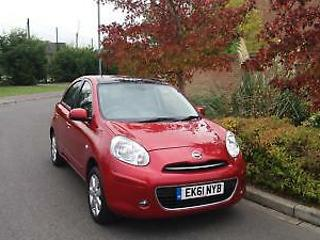 61 PLATE NISSAN MICRA 1.2 TEKNA PANORAMIC ROOF SAT / NAV 5 DOOR LOW MILEAGE