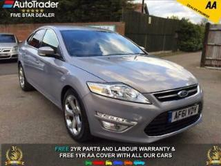 61 REG FORD MONDEO 1.8 TITANIUM+TDCi 6 SPEED 1 OWNER DOCUMENTED SERVICE HISTORY