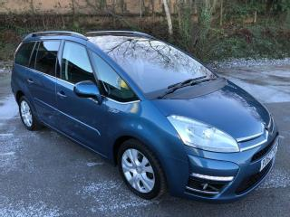 62 CITROEN C4 GRD PICASSO PLAT UM 2.0 HDI AUTOMATIC