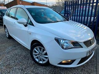 ✿62 Reg Seat Ibiza 1.6 TDI 105 SE CR, Estate, White ✿NICE EXAMPLE✿