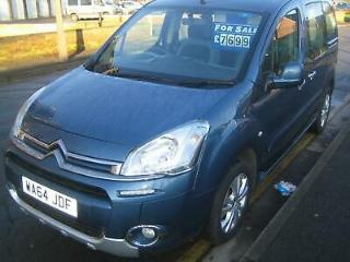 64 Citroen Berlingo 1.6HDi Plus Wheelchair Accessible Only 15000 miles