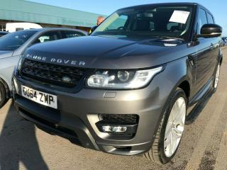 64 LAND ROVER RANGE ROVER SPORT 3.0 SDV6 HSE AUTOBIOGRAPHY DYNAMIC *REAR SCREENS