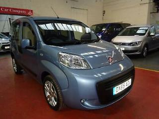 65 FIAT QUBO RIDE UP FRONT WHEELCHAIR ADAPTED DISABLED VEHICLE