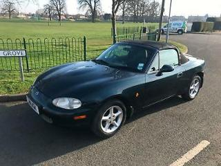 98 S Mazda MX 5 1.8i Convertible Good Condition, Recent Hood