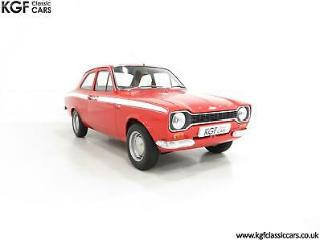 A Fabulous Matching Numbers AVO Registered Mk1 Ford Escort RS Mexico