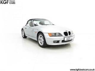 A Splendid BMW Z3 1.9i with a Striking Interior and Just 48,012 Miles from New