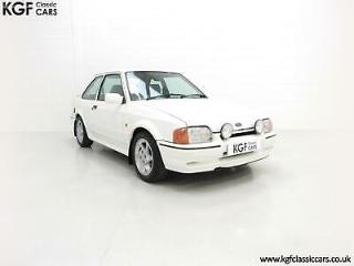 A Stunning 90 Spec Ford Escort RS Turbo with 43,980 Miles from New