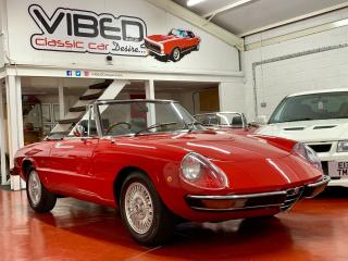 Alfa Romeo 2000 Spider Veloce Kamm Tail S2 1974 / Stunning UK Supplied RHD Car