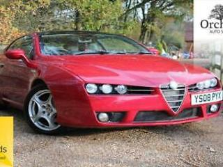 Alfa Romeo Brera 2.2JTS SV FSH 2OWNERS FROM NEW 1YR MOT
