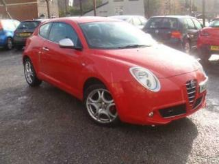 Alfa Romeo MiTo 1.4 Hatch Veloce cheap tax/insurance Red
