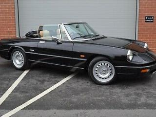Alfa Romeo Spider S3 Stunning in black