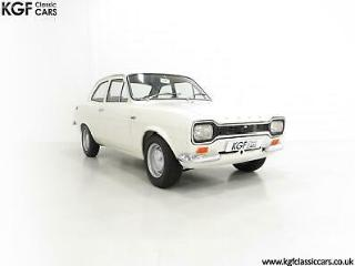An Early Mk1 Ford Escort Twin Cam in Perfect Condition and AVO Club Registered