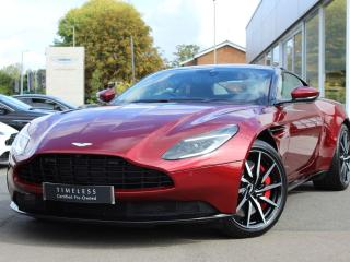 Aston Martin DB11 V8 2dr Touchtronic Coupe 2019, 2595 miles, £109900