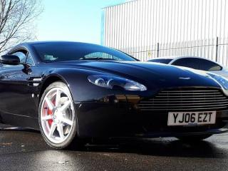 Aston Martin V8 Vantage. FAMSH, Apple Car Play