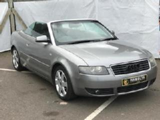 Aud A4 2.5 TDI Sport Convertible, Heated Seats, Air Con 12 Month Mot 3 Month