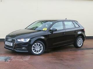 AUDI A3 1.6TDI SPORTBACK SE 2014 64 5DR WITH 53,391 MILES, 1 OWNER & £0 TAX