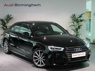 Audi A3 2017 Special Editions 1.5 TFSI Black Edition 4dr S Tronic Saloon