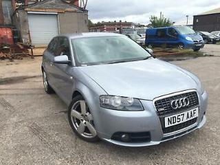AUDI A3 2.0 TDI QUATTRO S LINE 170 BHP,HPI CLEAR,NEW TURBO,CAMBELT CHANGE,CRUISE