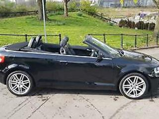 Audi A3 Cabriolet 1.6TD 104bhp 2010MY S Line