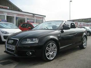 Audi A3 Cabriolet 2.0TDI 2009MY S Line