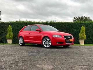 AUDI A3 SPORT 2008 3DR 1.4 TFSI 95K M.O.T NOV 2020 FSH CLEAN CAR DRIVES WELL A/C