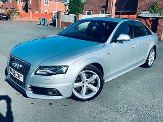 Audi A4 2.0TDI 143PS 2008MY S Line 07522 025923 PART EXCHANGE WHY