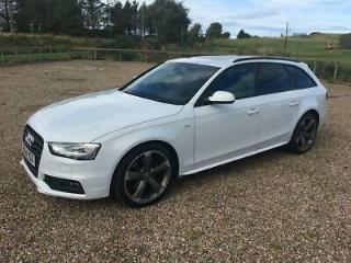 Audi A4 AVANT TDI BLACK EDITION 5 Door DIESEL MANUAL 2014/64