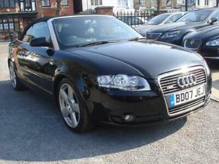 Audi A4 Cabriolet 2.0TDI 2007MY S Line