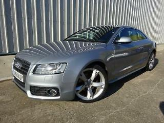 AUDI A5 2.0 TDi 170 Start Stop S Line Special Edition Coupe manual Silver 2011