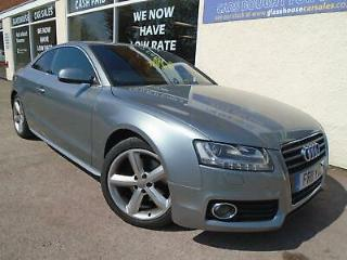 Audi A5 2.0 TFSI 180ps 2011 S Line Leather Rev. Camera