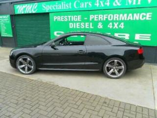 AUDI A5 2.0TDi S LINE BLACK EDITION 2011 Diesel Manual in Black