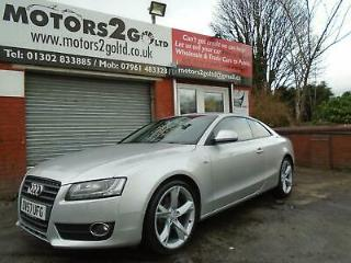 57 PLATE Audi A5 2.7TDI COUPE 3d Multitronic Sport FULL LEATHER COUPE