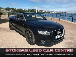 Audi A5 3.0TDI Cabriolet Convertible Tronic quattro S Line FULLY LOADED