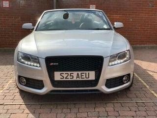 Audi A5 Convertible 2.0 TFSI s line Petrol RS5 look private plate 2009