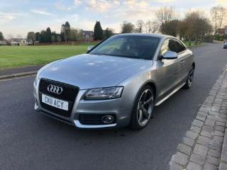 AUDI A5 S LINE BLACK EDITION 2.0L TDI DAMAGED REPAIRED