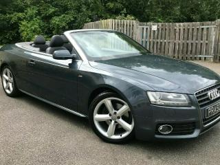 Audi A5 S Line Convertible/Cabriolet 2.0 Diesel Manual Grey 2011
