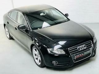 Audi A5 Sportback Black 2.0 TDi 170 SE 2011 Diesel 5 Door Manual