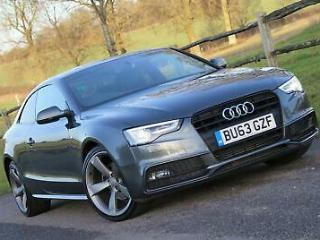 AUDI A5 TDi 177 Multitronic Black Edition 2013 Diesel SemiAutomatic in Grey